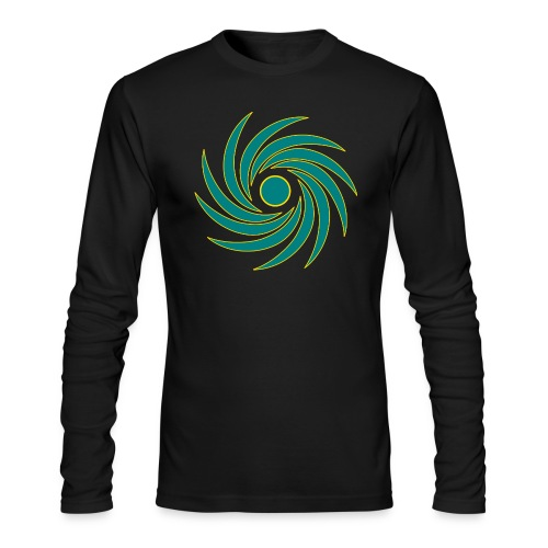 Whirl - Men's Long Sleeve T-Shirt by Next Level