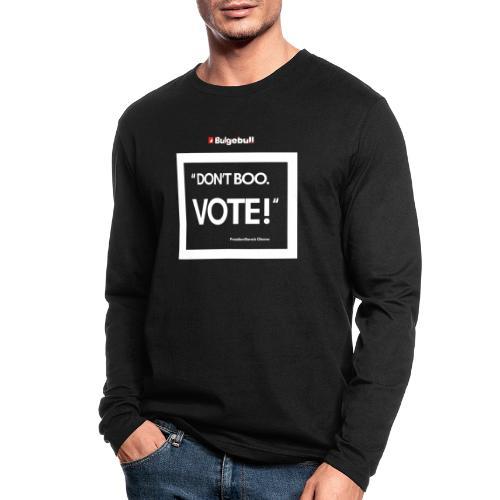 BULGEBULL DONT BOO - Men's Long Sleeve T-Shirt by Next Level