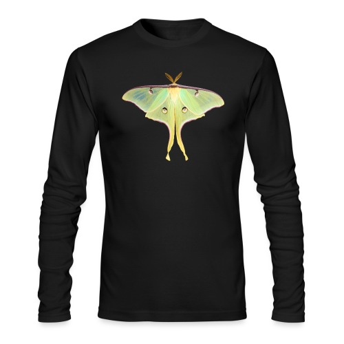 GREEN LUNA MOTH - Men's Long Sleeve T-Shirt by Next Level