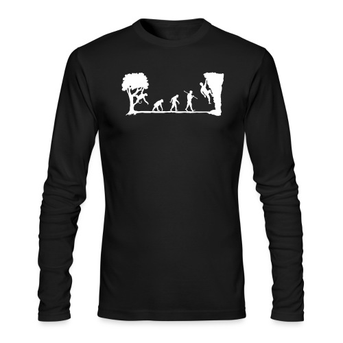 Apes Climb - Men's Long Sleeve T-Shirt by Next Level