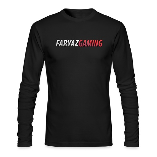 FaryazGaming Text - Men's Long Sleeve T-Shirt by Next Level