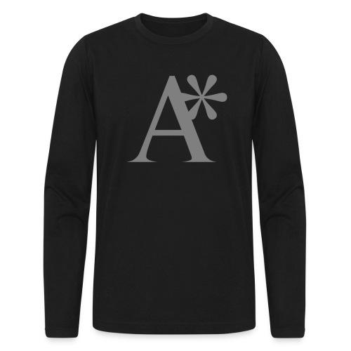 A* logo - Men's Long Sleeve T-Shirt by Next Level