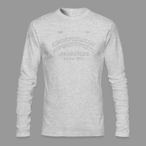 Talking Board - Men's Long Sleeve T-Shirt by Next Level