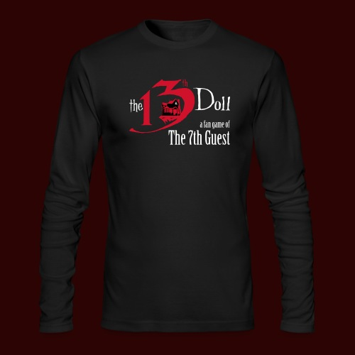 The 13th Doll Logo - Men's Long Sleeve T-Shirt by Next Level
