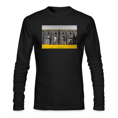 Bricks: who worked here - Men's Long Sleeve T-Shirt by Next Level