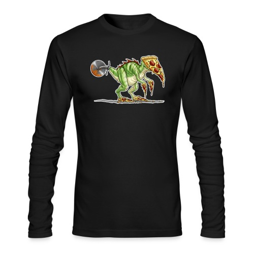 pizzasaurus - Men's Long Sleeve T-Shirt by Next Level