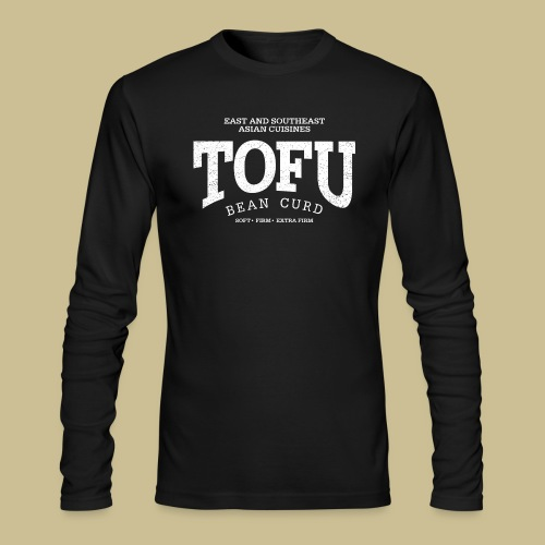 Tofu (white oldstyle) - Men's Long Sleeve T-Shirt by Next Level