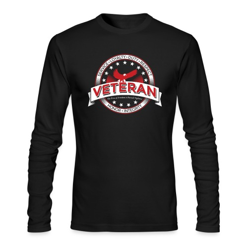 Veteran Soldier Military - Men's Long Sleeve T-Shirt by Next Level