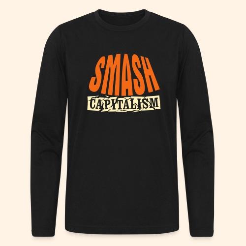 Smash Capitalism - Men's Long Sleeve T-Shirt by Next Level