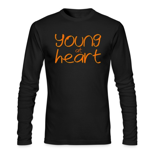 young at heart - Men's Long Sleeve T-Shirt by Next Level