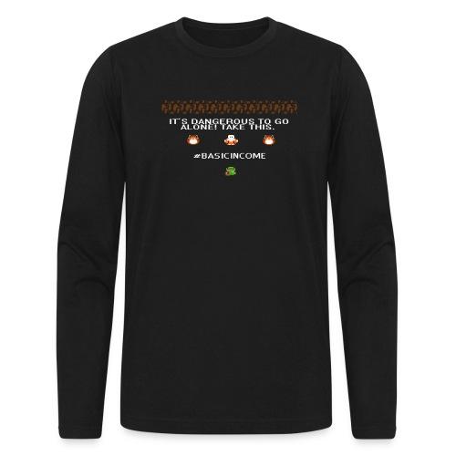 Legend of #Basicincome - Men's Long Sleeve T-Shirt by Next Level