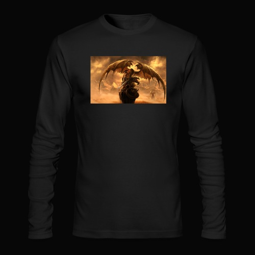Dragon féroce - Men's Long Sleeve T-Shirt by Next Level