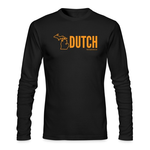 Michigan Dutch (orange) - Men's Long Sleeve T-Shirt by Next Level