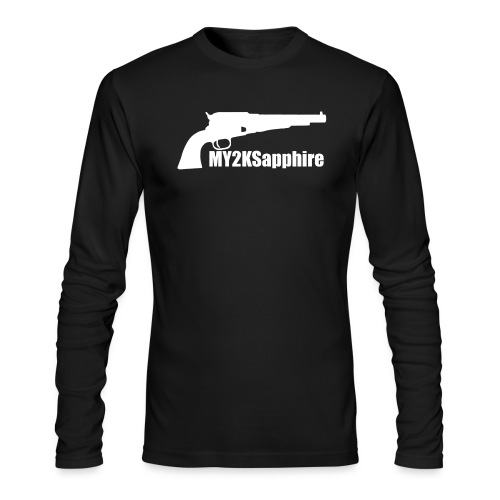 Remington 1858 Revolver - Men's Long Sleeve T-Shirt by Next Level