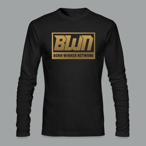 BWN (Gold) - Men's Long Sleeve T-Shirt by Next Level