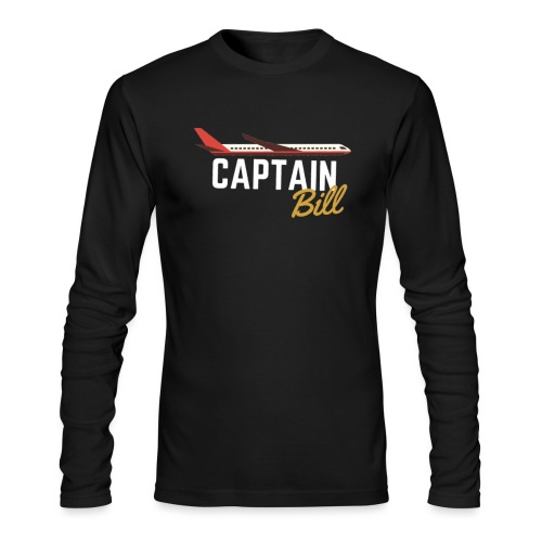 Captain Bill Avaition products - Men's Long Sleeve T-Shirt by Next Level