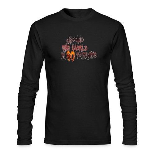 Around The World in 80 Screams - Men's Long Sleeve T-Shirt by Next Level