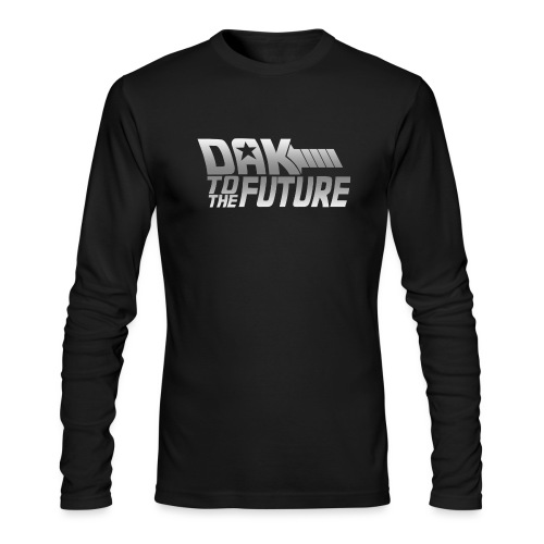 Dak To The Future - Men's Long Sleeve T-Shirt by Next Level