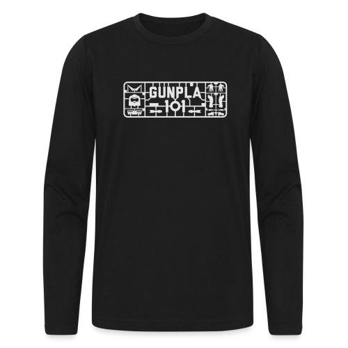 Gunpla 101 Men's T-shirt — Zeta Blue - Men's Long Sleeve T-Shirt by Next Level