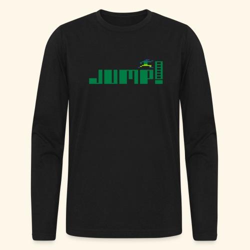 Jump! - Men's Long Sleeve T-Shirt by Next Level