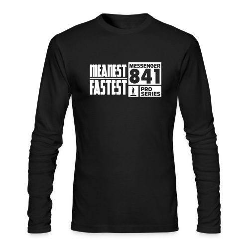 Messenger 841 Meanest and Fastest Crew Sweatshirt - Men's Long Sleeve T-Shirt by Next Level