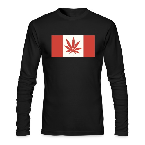Canada 420 - Men's Long Sleeve T-Shirt by Next Level