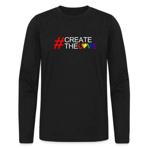 #CreateTheLove - Men's Long Sleeve T-Shirt by Next Level
