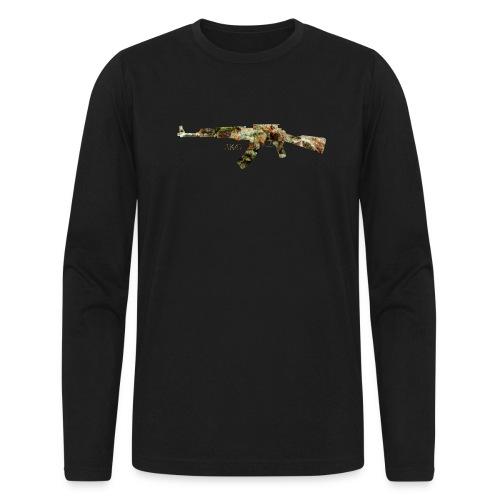 AK-47.png - Men's Long Sleeve T-Shirt by Next Level