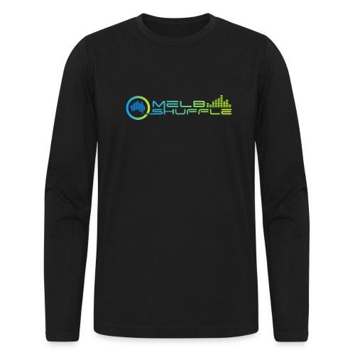 Melbshuffle Gradient Logo - Men's Long Sleeve T-Shirt by Next Level