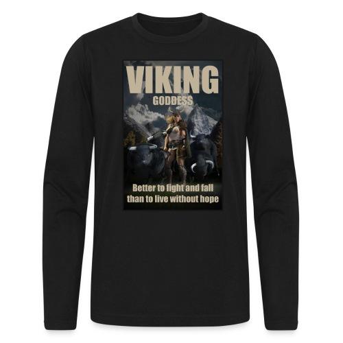 Viking Goddess - Viking warrior - Men's Long Sleeve T-Shirt by Next Level