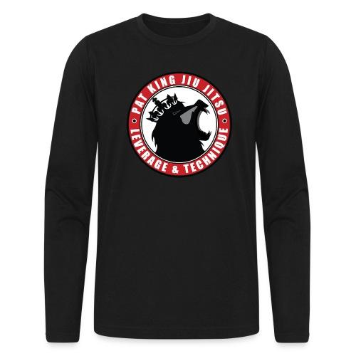 PK Merch grey22 - Men's Long Sleeve T-Shirt by Next Level
