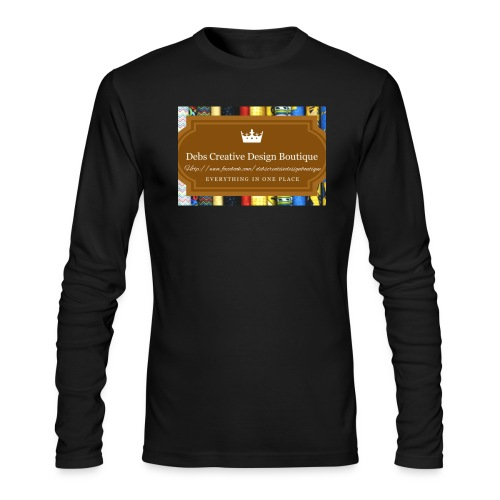 Debs Creative Design Boutique with site - Men's Long Sleeve T-Shirt by Next Level