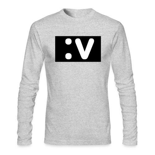 LBV side face Merch - Men's Long Sleeve T-Shirt by Next Level