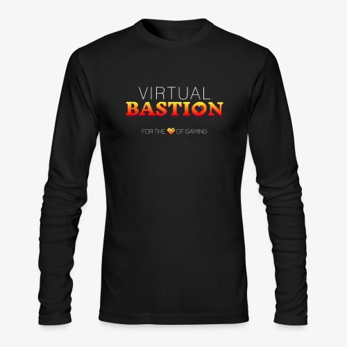 Virtual Bastion: For the Love of Gaming - Men's Long Sleeve T-Shirt by Next Level