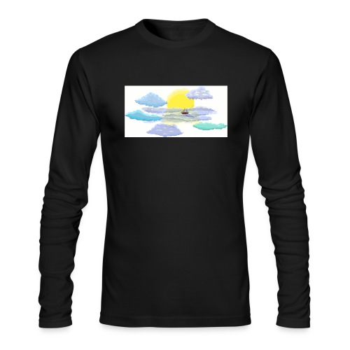 Sea of Clouds - Men's Long Sleeve T-Shirt by Next Level