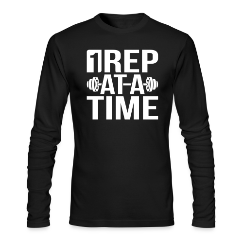 1Rep at a Time - Men's Long Sleeve T-Shirt by Next Level