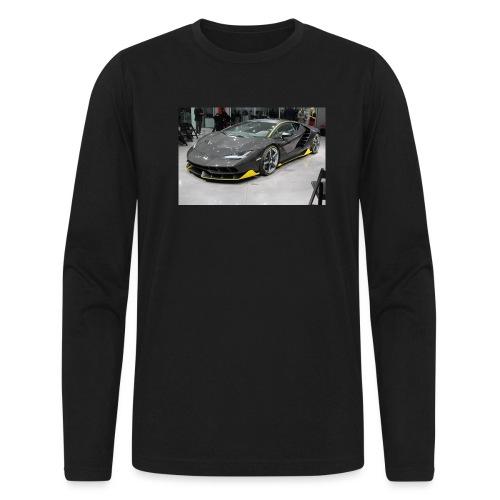 Lamborghini Centenario front three quarter e146585 - Men's Long Sleeve T-Shirt by Next Level