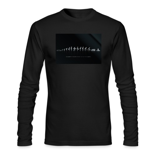 DIFFERENT STAGES OF HUMAN - Men's Long Sleeve T-Shirt by Next Level