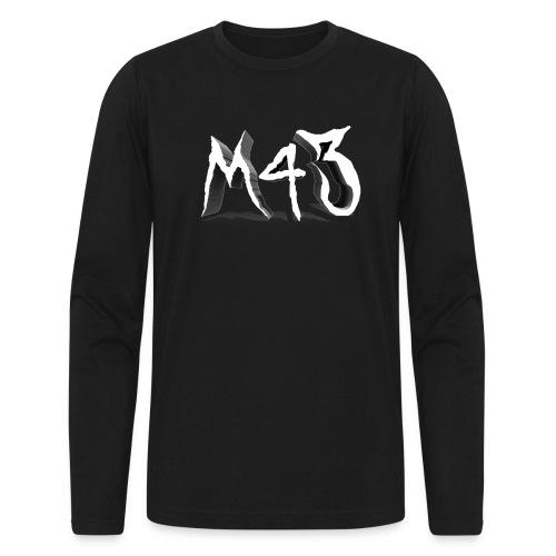 M43 Logo 2018 - Men's Long Sleeve T-Shirt by Next Level