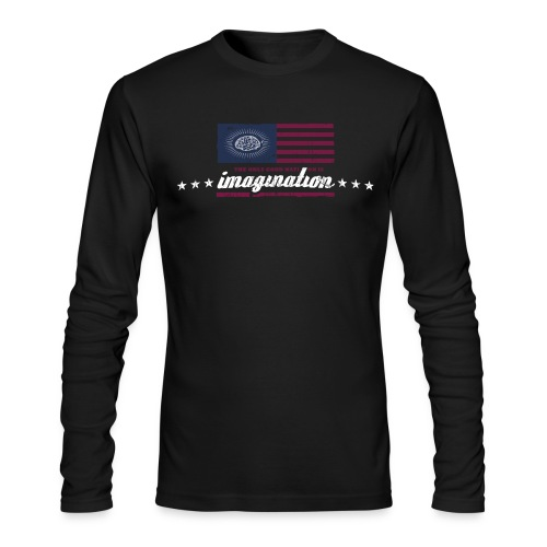 The only good nation is imagination - Men's Long Sleeve T-Shirt by Next Level