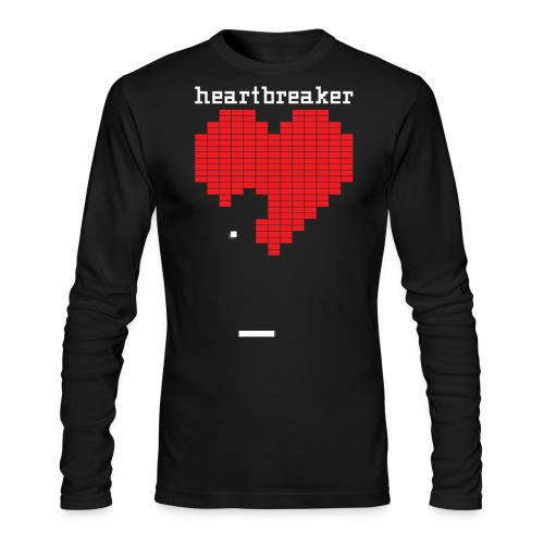 Heartbreaker Valentine's Day Game Valentine Heart - Men's Long Sleeve T-Shirt by Next Level