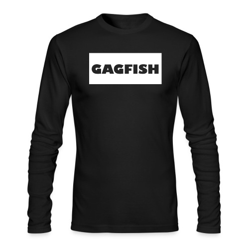 GAGFISH WIGHT LOGO - Men's Long Sleeve T-Shirt by Next Level
