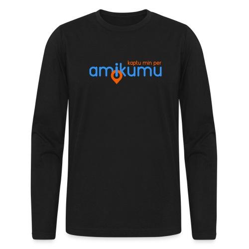 Kaptu min per Amikumu Blua - Men's Long Sleeve T-Shirt by Next Level