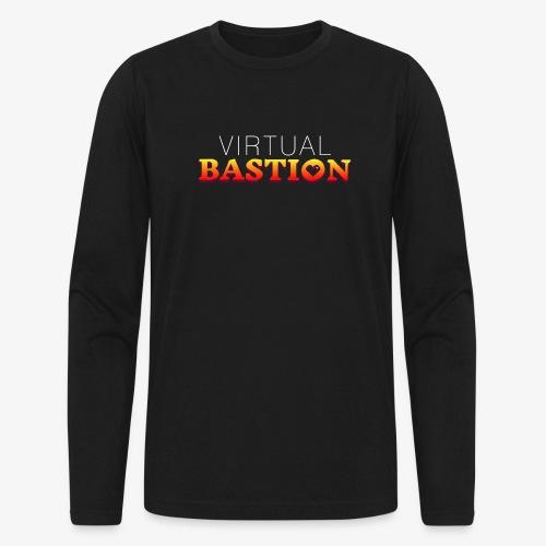 Virtual Bastion - Men's Long Sleeve T-Shirt by Next Level