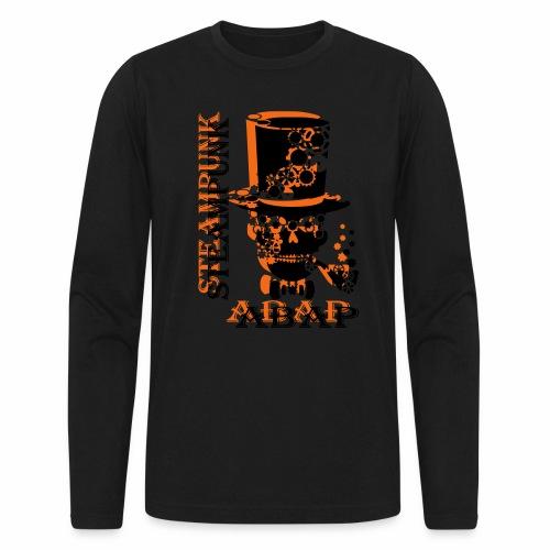 Steampunk Skull - Men's Long Sleeve T-Shirt by Next Level