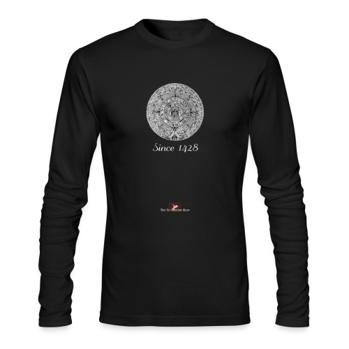 Since 1428 Aztec Design! - Men's Long Sleeve T-Shirt by Next Level