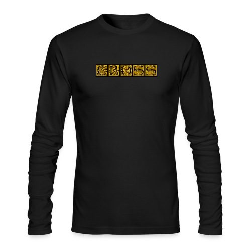 Cr0ss Gold-Out logo - Men's Long Sleeve T-Shirt by Next Level