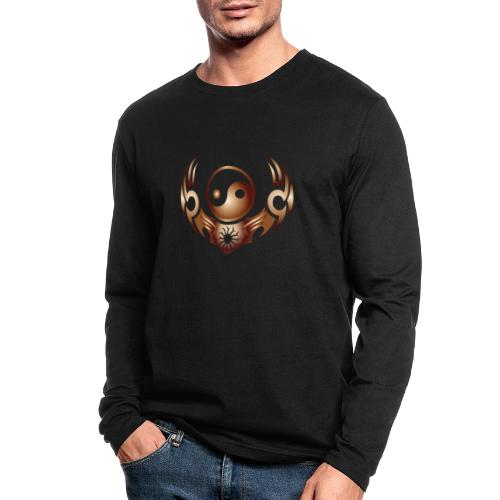 Yin Yang - Men's Long Sleeve T-Shirt by Next Level