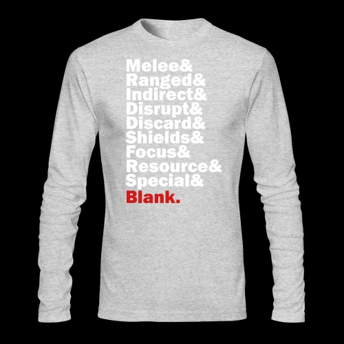 Discard to Reroll - Sides of the Die - Men's Long Sleeve T-Shirt by Next Level