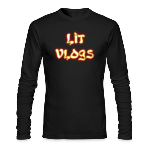 Lit Vlogs Glowing - Men's Long Sleeve T-Shirt by Next Level